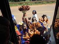 Mabira food venders