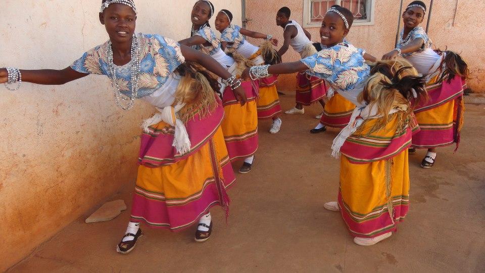 Baganda`s muwogla dance