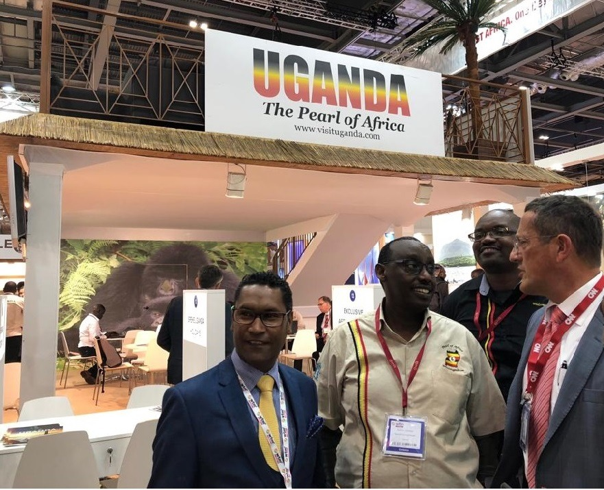 Mountain gorillas excite many as Uganda exhibits at the World Travel Market in London