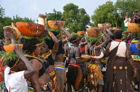 Cultural Performance in Kidepo Valley National Park Uganda tour