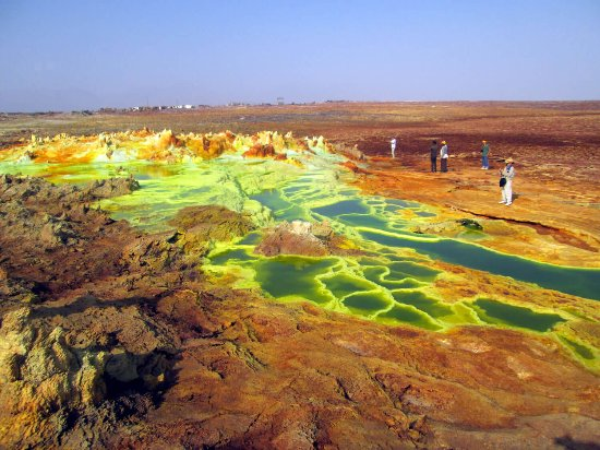 Dallol depression Ethiopia Safari Tours Package