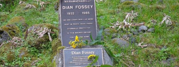 Diane fossey grave Active Adventure Vacation Safari in Rwanda