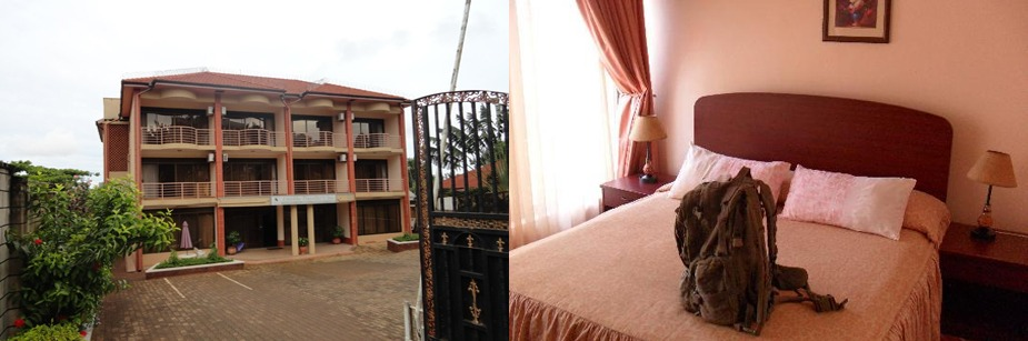Entebbe Travellers Inn- uganda safari accommodation