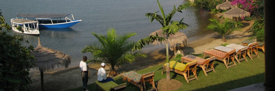 Gisenyi beaches Lake Kivu