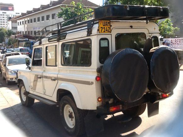HIRING A CAR IN UGANDA