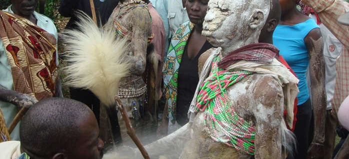 Imbalu Circumcision ceremony among the Bagisu