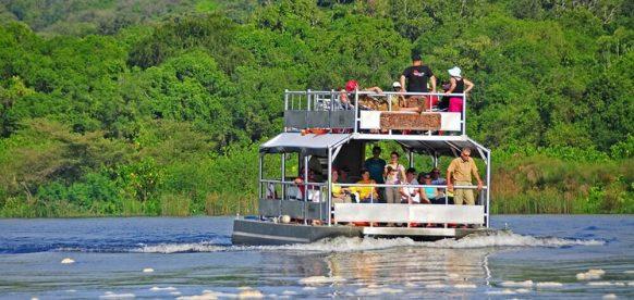 Kazinga channel launch cruise
