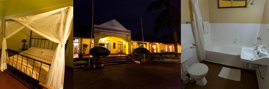Masindi Hotel - luxury accommodation on a uganda safari