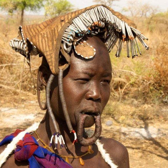 Mursi People famous Ethiopia Safari Tours Package
