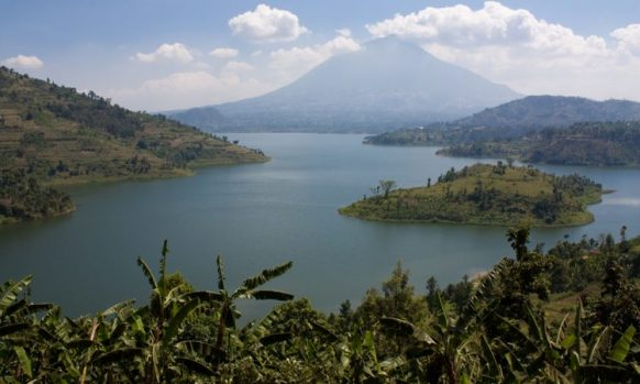 Twin Lakes walk as a Rwanda Safari activity in Volcanoes National Park