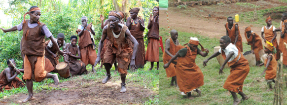 batwa-people-entertaining-guests uganda safari