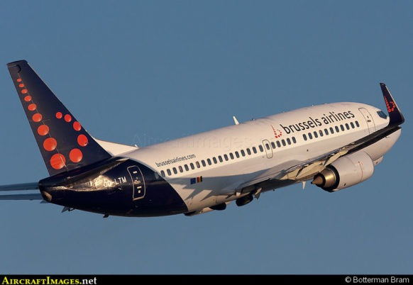 SN brussels air craft