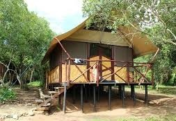 bush lodge in queen Elizabeth national park