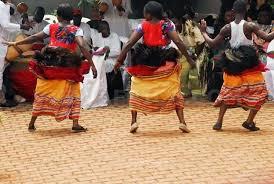 kiganda cultural dancers