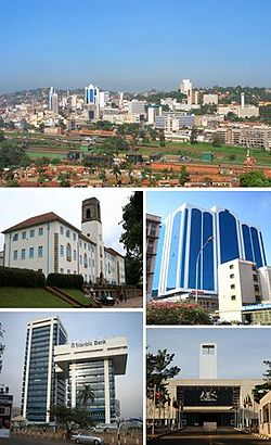 Kampala city as of 2013