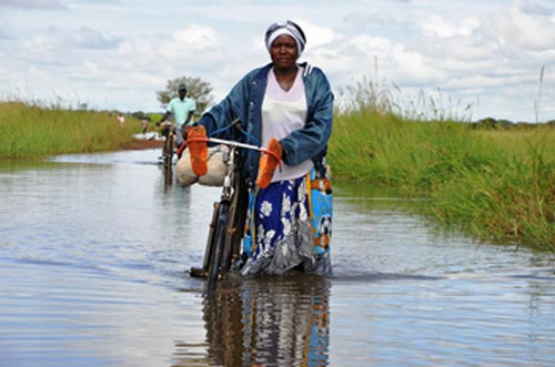 kasese roads flood