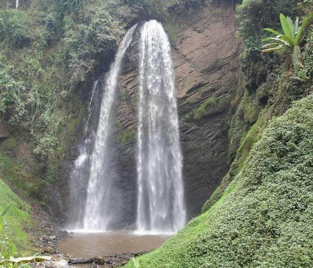 kisizi falls - uganda