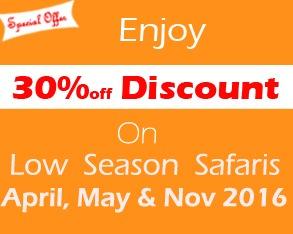 low season discounted uganda safaris