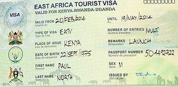 East Africa visa