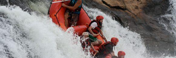 White Water Rafting uganda tour