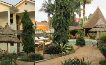 2 Friends Beach Hotel- accommodation on a uganda safari