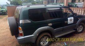 4X4 Ordinary Land Cruisers For Self Drive Hire in Uganda Kampala 4X4 Uganda Self Drive Safari Car Rental
