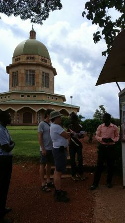 Bahai temple in Africa