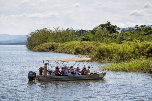 Boat trips as a Rwanda Safari activity in Akagera National Park