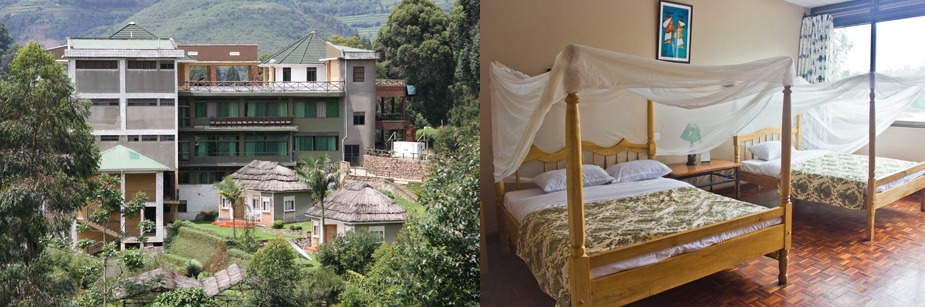 Bunyonyi Safaris Resort - accommodation in bunyonyi on a uganda safari