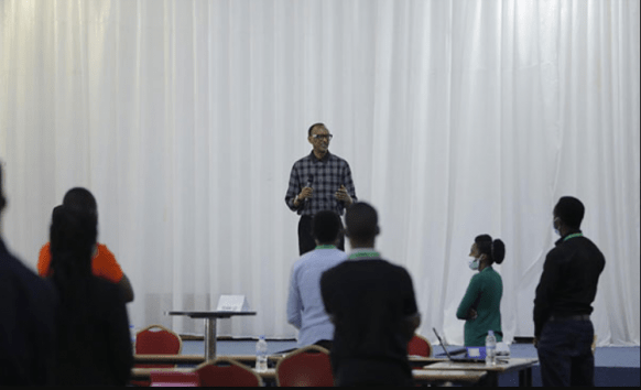 President Kagame Cheers the COVID19 Joint Task Force
