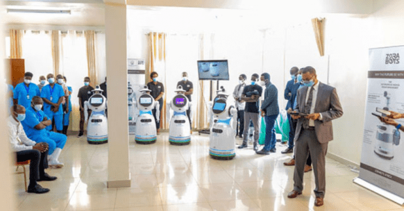 Rwanda Launches Anti-Epidemic Robots to Boost the Fight against COVID-19