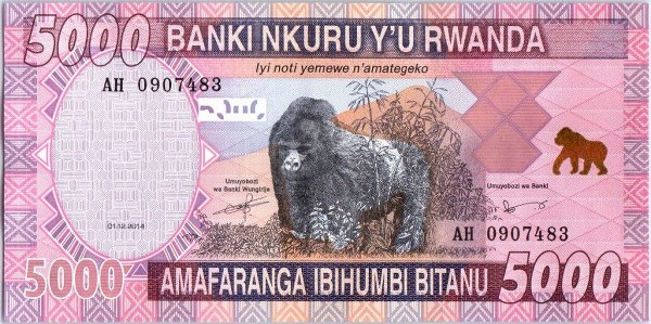 Currency used in Rwanda