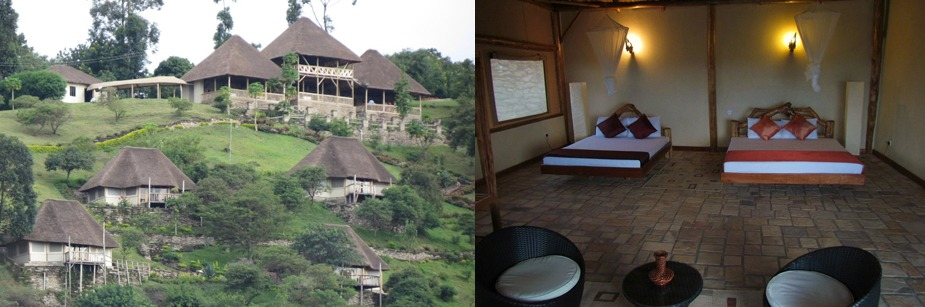 Enganzi Game Lodge - accommodation on a uganda tour