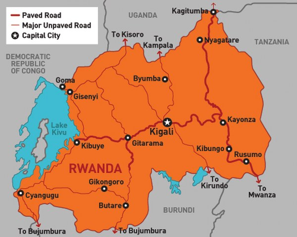 How to get around-travel in Rwanda
