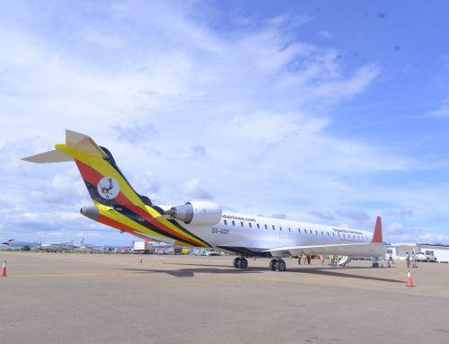 Uganda Airlines Maiden Flight Safely Lands in Mombasa