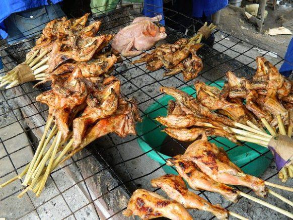 Mabira chicken roasted - Safari uganda