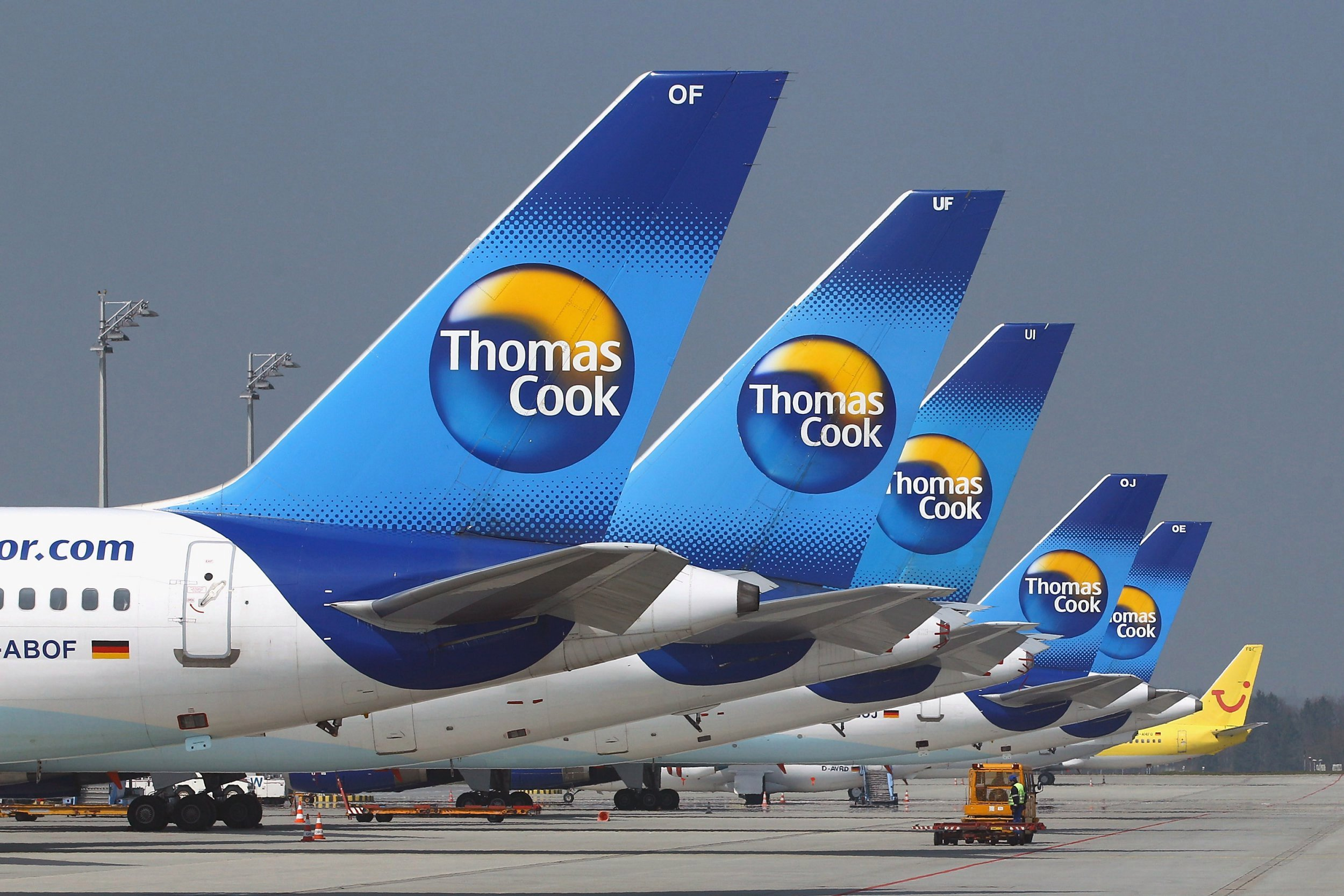 UK Giant Thomas Cook Collapse Leaving Thousands Stranded