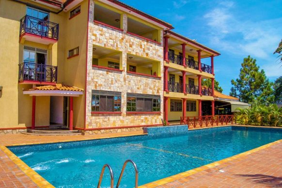 Rosemary courts hotel entebbe
