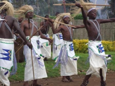 traditional dancers Rwanda