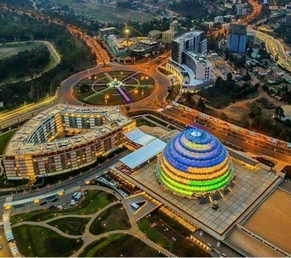 Rwanda Kigali Convention Center in Kacyiru