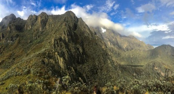 Rwenzori Mountain Trek as a Congo Safari activity in Virunga National Park
