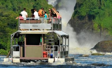 The Nile Launch Cruise in Murchison Falls National Park Uganda tour