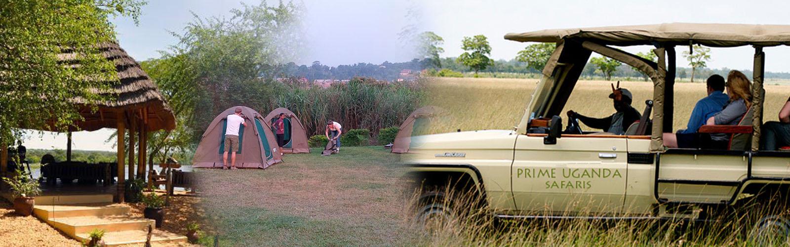 Uganda camping safari