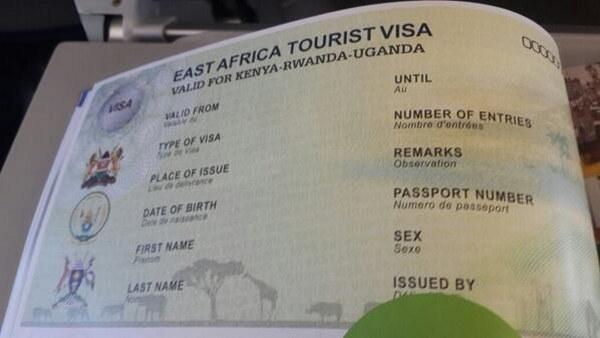 Visa to go to Rwanda