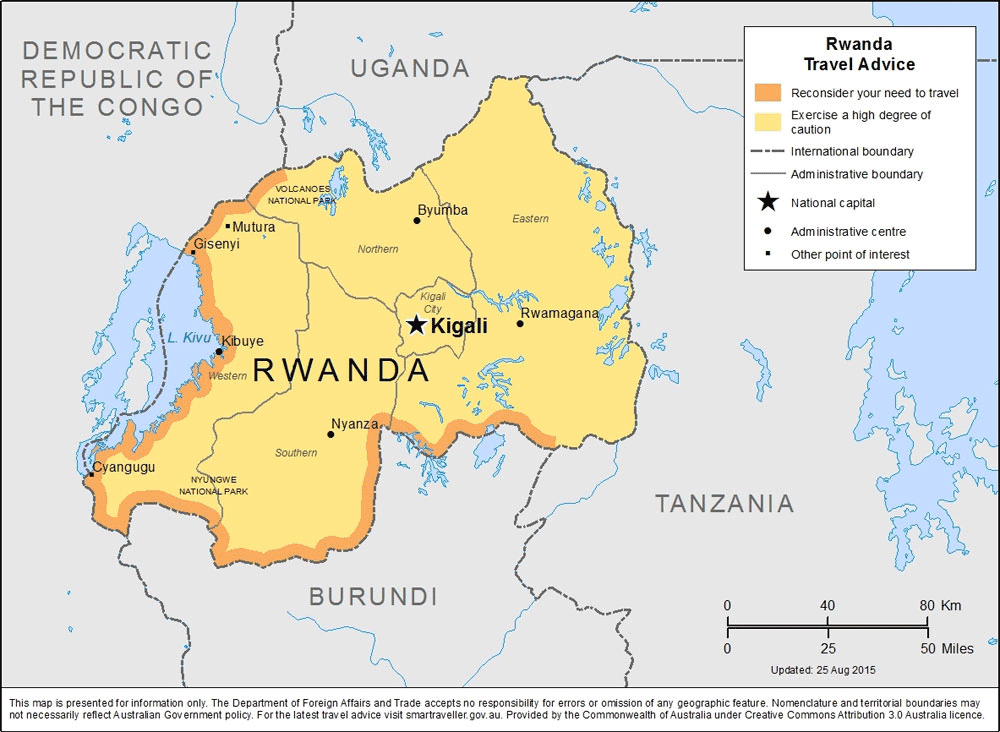 What's the time zone in Rwanda