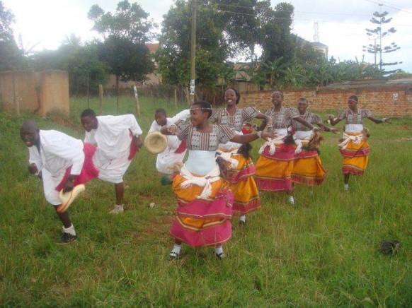 traditional dancers in uganda