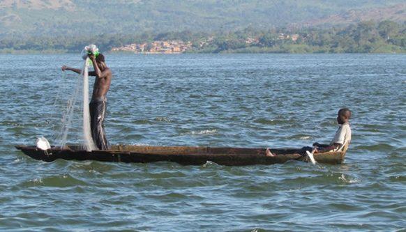 fishing in uganda safari
