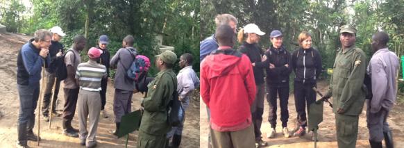 gorilla-trekking-briefing Safari Rwanda