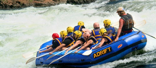 white rafting in uganda