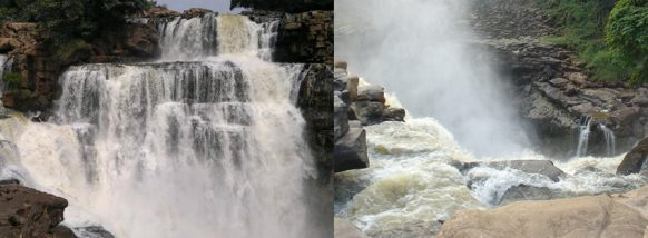 zongo falls congo tour